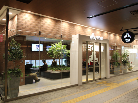 西鉄天神高速バスターミナル 乗車ホーム その7