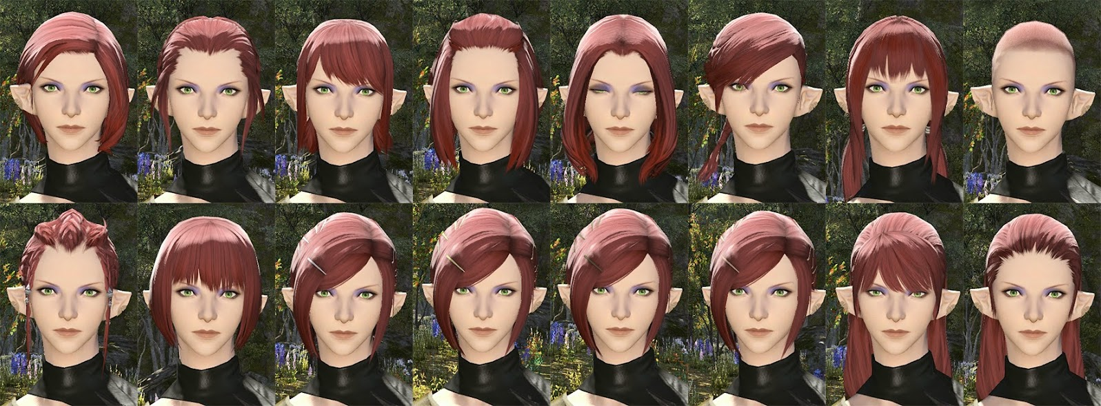Elezen Female Hair