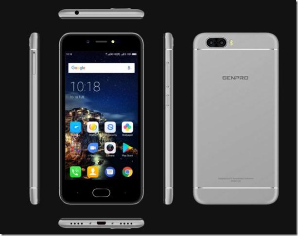 Genpro X Pro, Smartphone Dual Kamera RAM 3GB Termurah di Indonesia