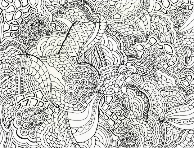 Extraordinary Hard Coloring Sheets Printable About Free Printable Hard Coloring  Pages For Adults