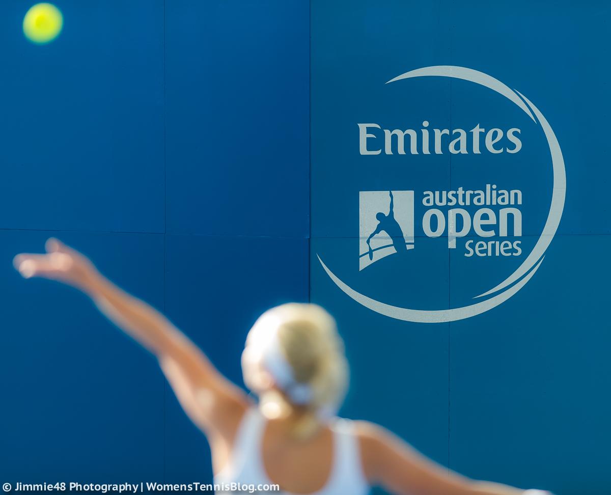 Top players prepare in brisbane gallery women 39 s tennis for Ambiance australia