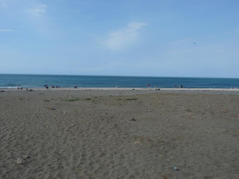 une autre plage, mais sale