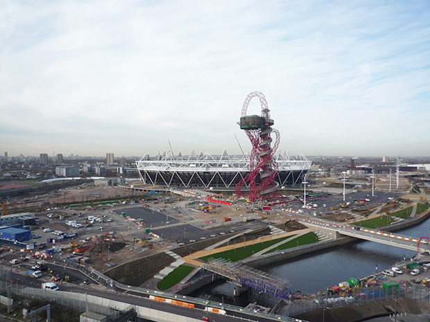 Anish Kapoor's ArcelorMittal Orbit at the Olympic Park