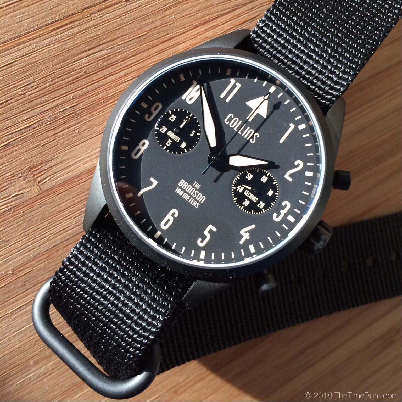 Preferred Collins Bronson Chronograph | The Time Bum ZX88