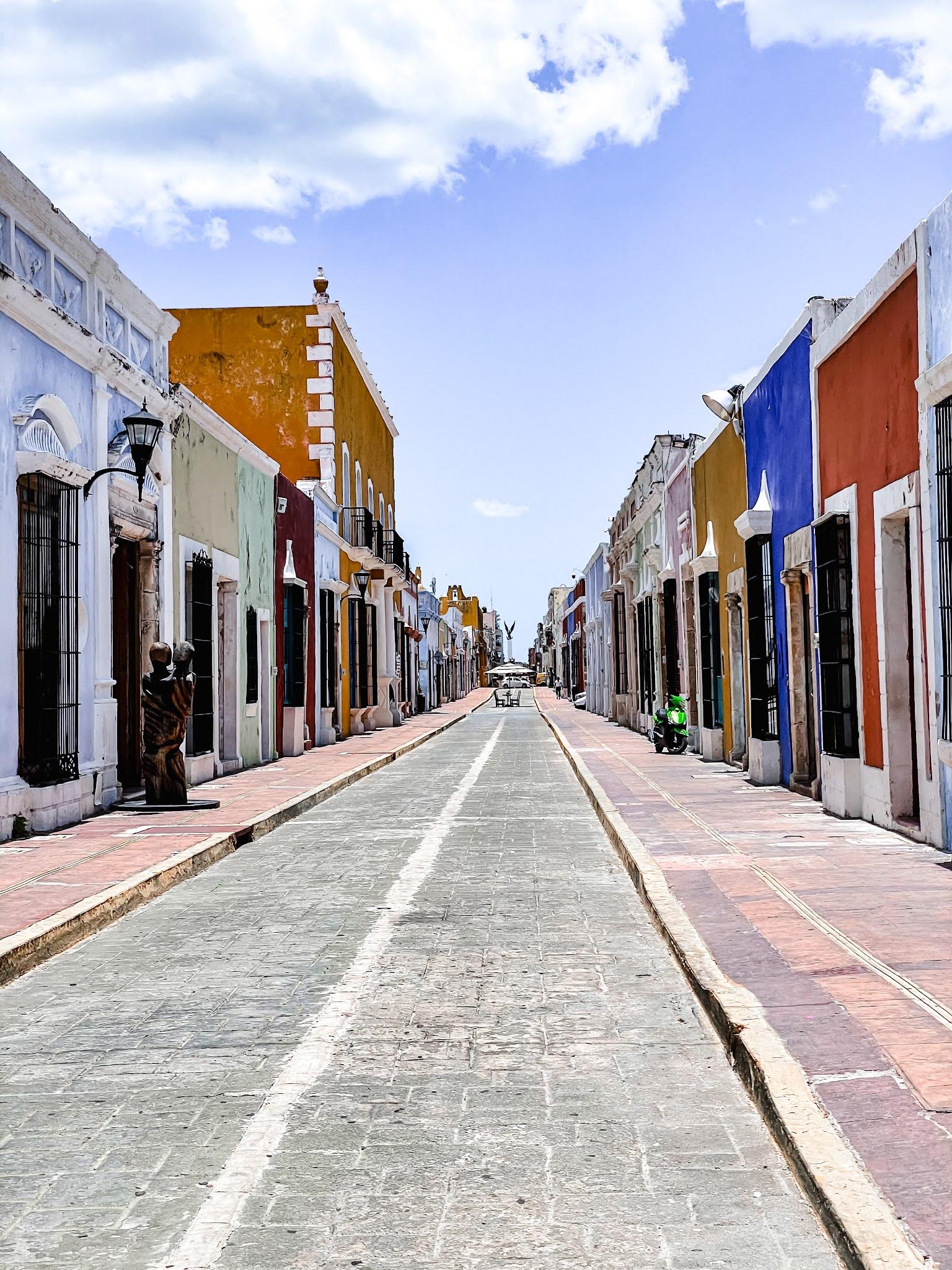 Campeche Ville Mexique