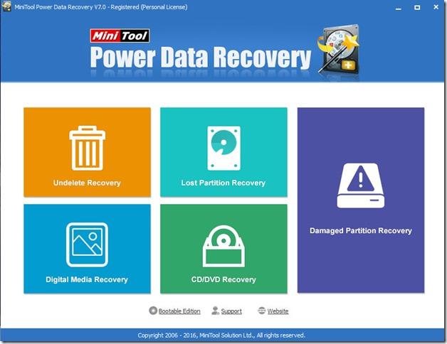 أقوى برنامج إستعادة ملفات محذوفة MiniTool Data Recovery كامل شرعى 100%