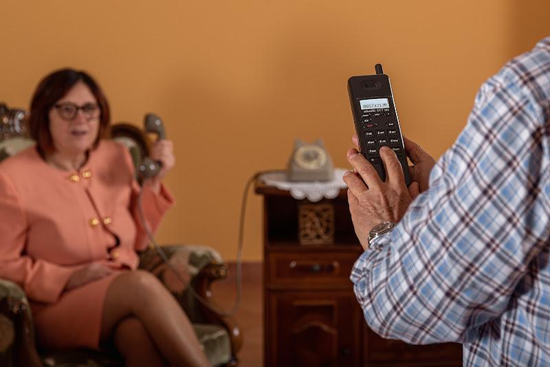 ... davvero vuoi telefonare con quel coso??? di renzodid