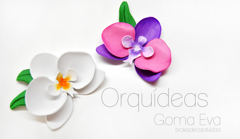 Flores de goma eva ideal para regalar a mam Manualidades