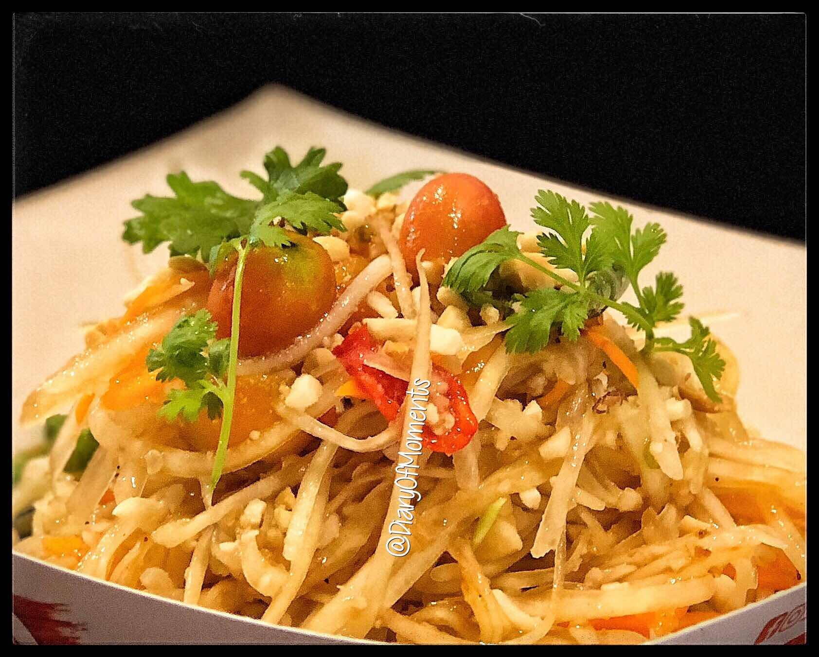 Thai Food- Papaya Salad