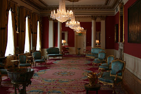 Reception room, state apartments, Dublin Castle