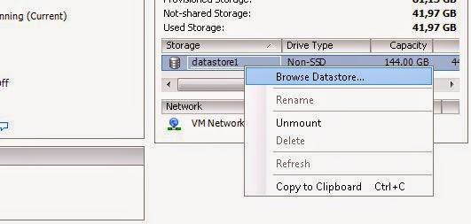 Quitar referencias a datastore manualmente cuando no funciona el proceso normal desde el modo gráfico de VMware vSphere Client