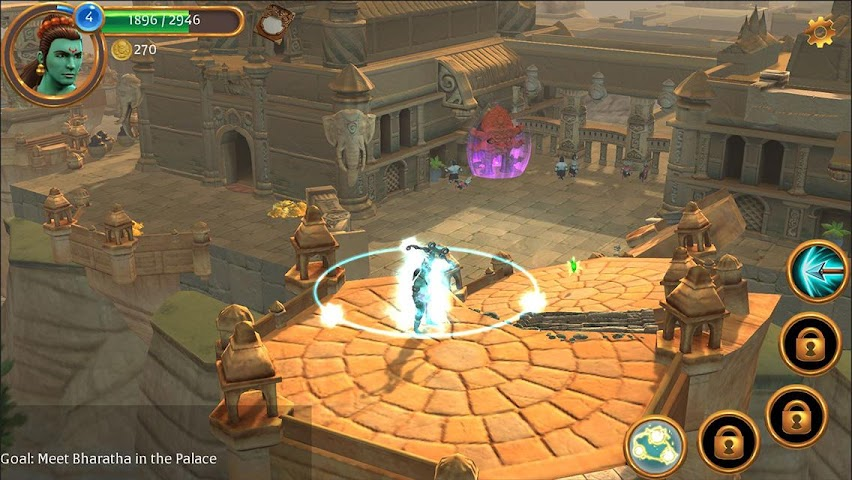 android Gamaya Legends Screenshot 1
