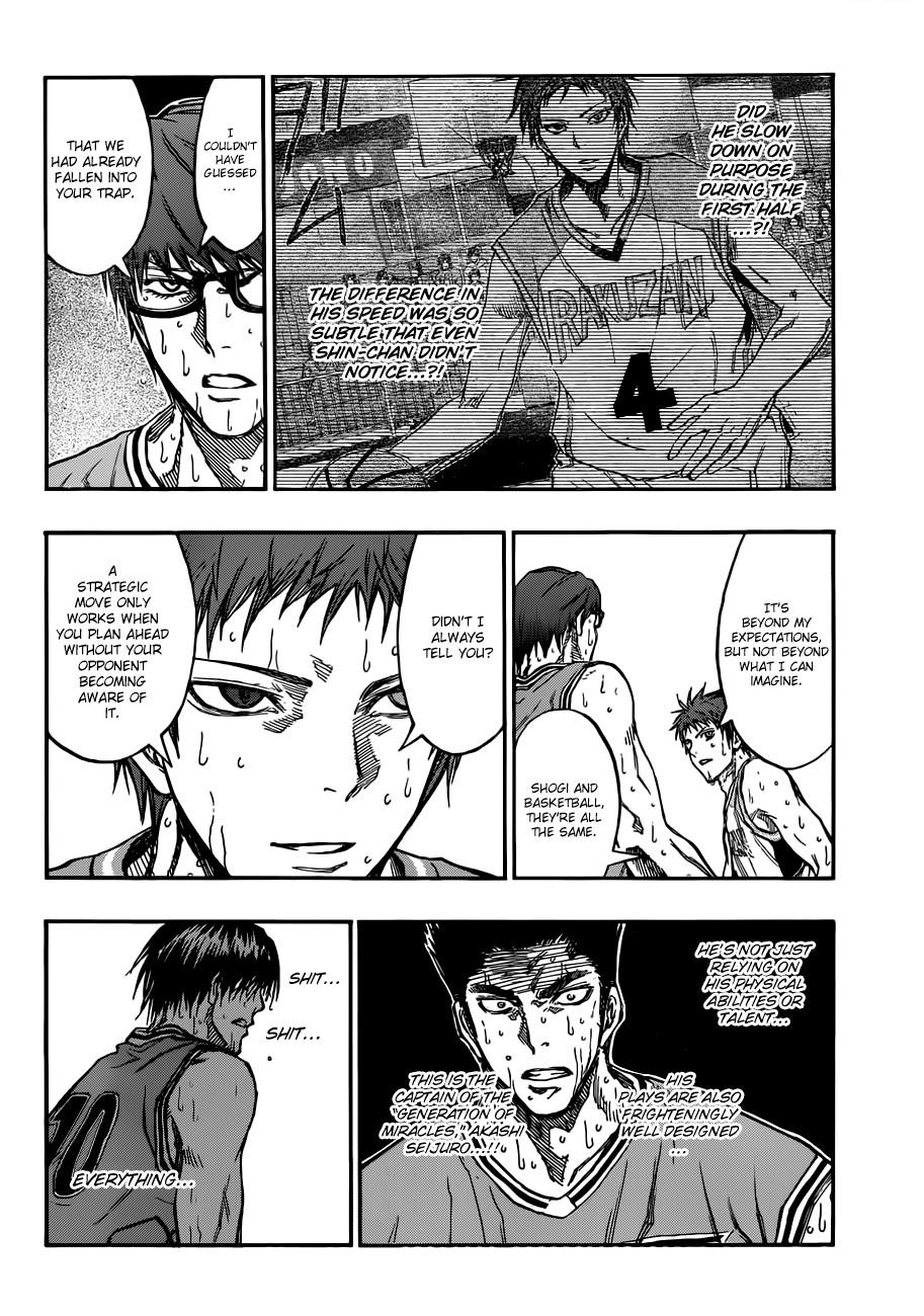 Kuroko no Basket Manga Chapter 182 - Image 12