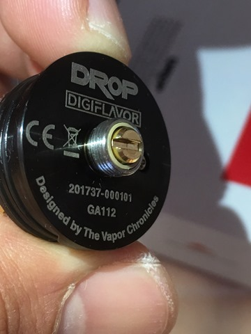 IMG 9363 thumb2 - 【爆煙スコンカー対応RDA】DIGIFLAVOR DROP RDA(デジフレーバー ドロップアールディーエー)レビュー~爆煙だけど濃厚フレーバー<*`∀´*>編~【電子タバコ/VAPE/ドリッパー】