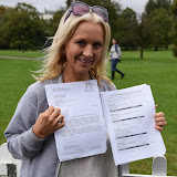 OIC - ENTSIMAGES.COM - Leigh-Catherine Salway MA - Psychic Medium at the  PupAid Puppy Farm Awareness Day 2015 London 5th September 2015 Photo Mobis Photos/OIC 0203 174 1069