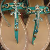 Кожаные сандалии Positano