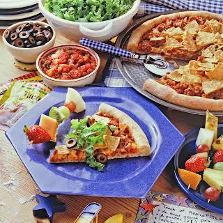 Easy Taco Pizza.