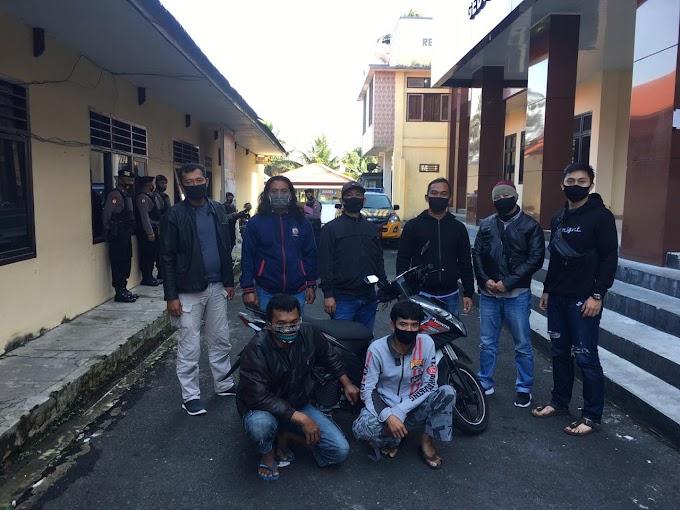 Penangkapan pelaku Penadah (480 KUHP) dalam kasus Tindak Pidana Penggelapan yang terjadi di wilayah Rejang Lebong.