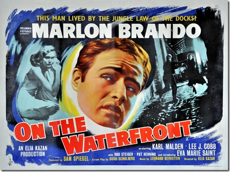 On the Waterfront poster (1954)