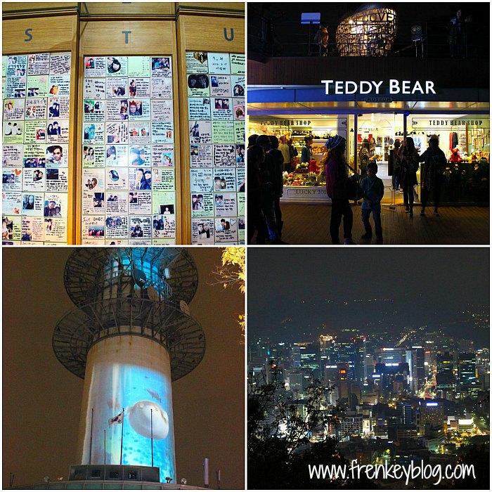 Kumpulan Wish dari pengunjung, Teddy Bear Shop, Animasi Akuarium di Seoul Tower