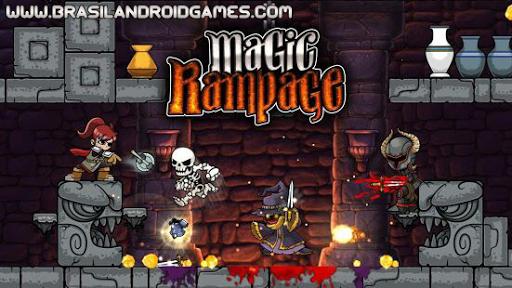 Magic Rampage APK MOD DINHEIRO INFINITO OBB Data