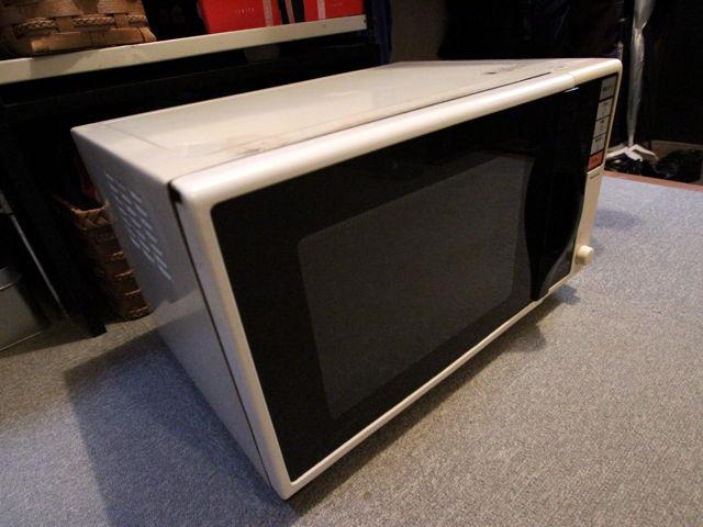1988年製の電子レンジが壊れた