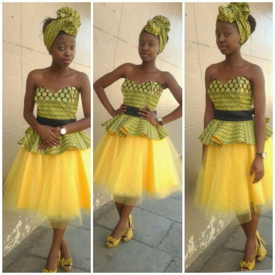 Shweshwe Traditional Dresses for 2018 New Year
