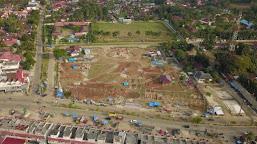Warga Rimbo Bujang Sambut Baik Bangunan Taman Hijau, Minta Jangan Dipolitisir