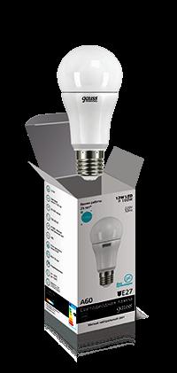 Лампа Gauss LED Elementary LON 12W A60 E27