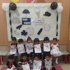 Black and White Day Celebrated by Playgroup - Afternoon Section at Witty World, Chikoowadi (2017-18)