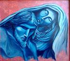 n. 42 Pietà - (olio su tavola) cm 50x40