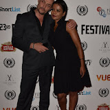OIC - ENTSIMAGES.COM - Sean Cronin and Nadia Alami at the  My Hero Film Premiere at Raindance Film Festival London 25th September 2015 Photo Mobis Photos/OIC 0203 174 1069