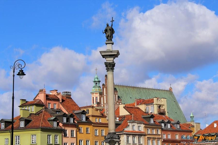 pomnik Króla Zygmunta III w Warszawie