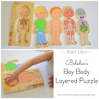 Beleduc Boy Body Puzzle