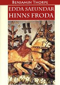 Cover of Benjamin Thorpe's Book Poetic Edda Edda Saeundar Hinns Froda