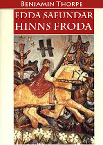 Cover of Benjamin Thorpe's Book Poetic Edda Edda Saeundar Hinns Froda