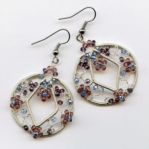 Framed Filigree Earrings by Melody MacDuffee