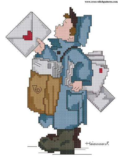 The Postman (Hummel) chart