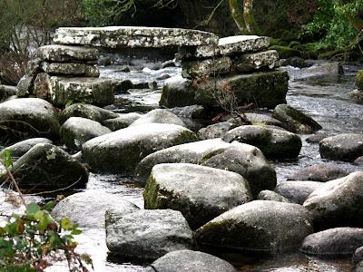 River in Dartmoor National Park