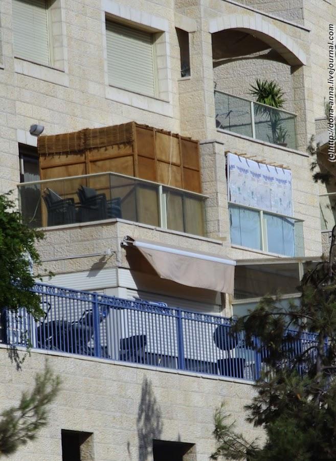 """""""в шалашах живите семь дней..."""" - занимательный израиль."""