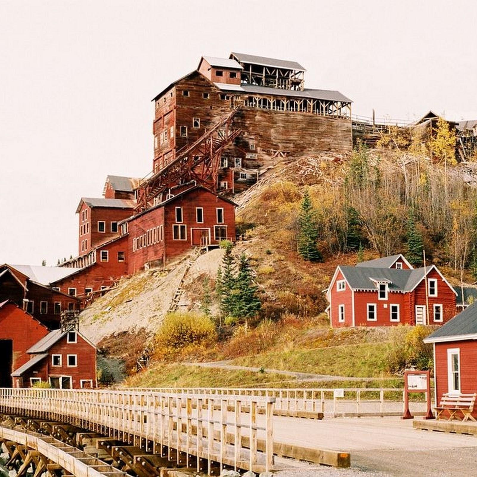 Abandoned Kennicott Copper Mining Town, Alaska