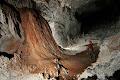 Katie Dent in 1954 passage, Whiterock Cave | photo © Robbie Shone