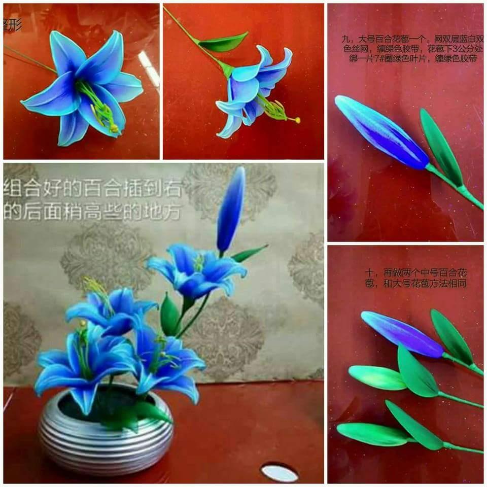 Tutorial Bunga Lily