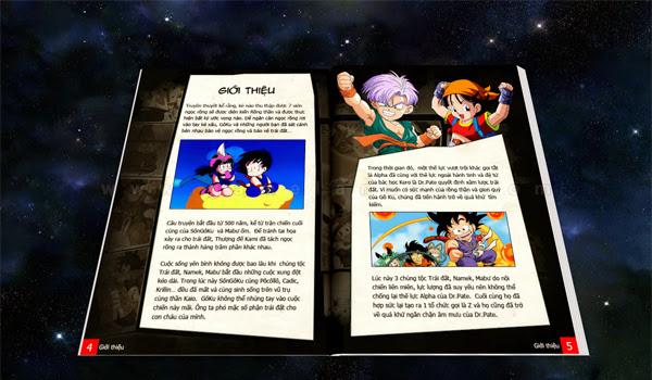 SSGroup làm mới trang giới thiệu Ngọc Rồng 3
