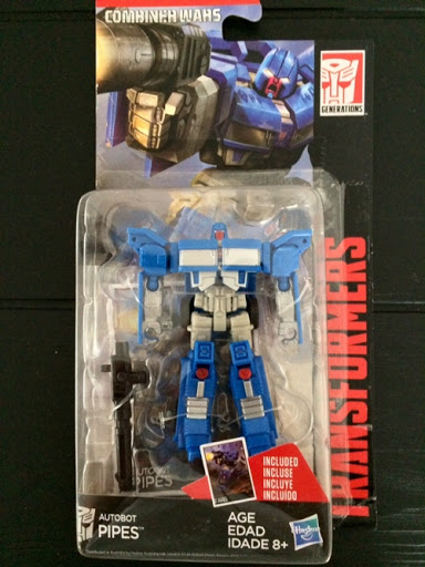 Transformers Combiner Wars HUFFER PIPES Weapon Gun Part