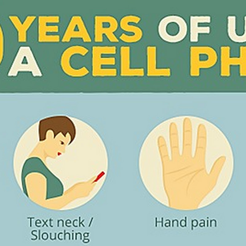 INFOGRAPHIC: 10 YEARS OF USING A CELL PHONE