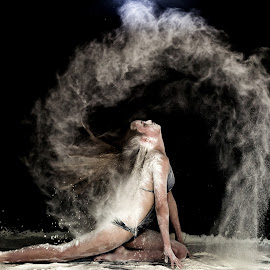 Flour Power by Penny Katz - People Portraits of Women ( flour, power, fun )