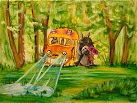 Totoro catbus ride