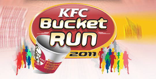 Dubai: KFC Bucket Run 2011