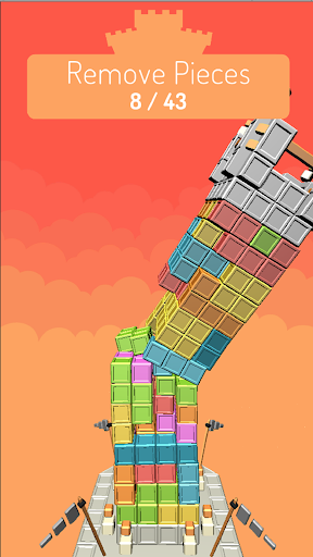 Castle Puzzle - The Perfect Jenga Tower Game ss3